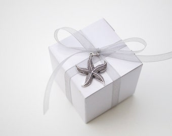 Beach Wedding Starfish Favors Themed Favor Star