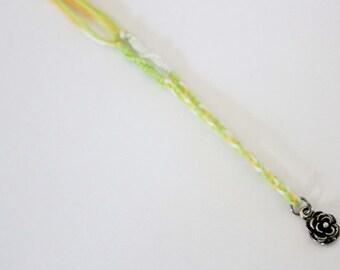 Game of Thrones inspired Tyrell charm bracelet - Rose - Margaery
