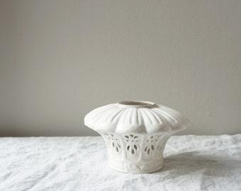 Vintage Tea Light Ceramic Candle Holder