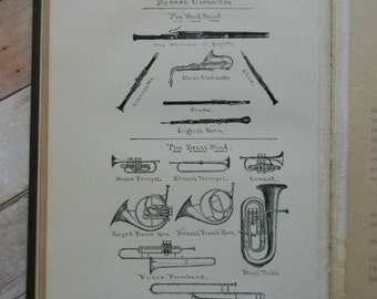 "Lovely Antique Music Theory Book - ""Elson's Theory of Music"" by Louis C. Elson - Illustrated. 114 Years Old."