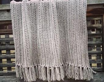 Chunky Dove Throw | Chunky Throw Blanket | Bulky Blanket | Bulky Knit Blanket | Chunky Knit Blanket | Chunky Afghan | Bulky Afghan