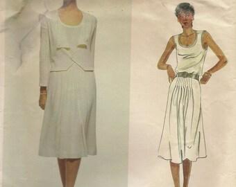 Vogue Vintage Designer Pattern-Renata Jacket, Skirt, and Top