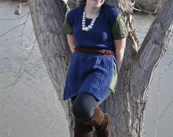 Handmade Crochet Tunic - Belegarth, Costume, Larp, Ren Fair