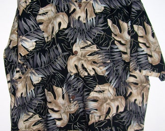Vintage Hawaiian Shirt Kahala Made in Hawaii XL Cotton