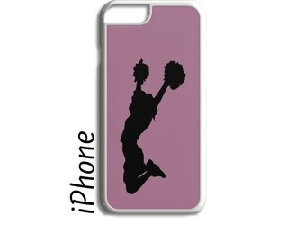 Cheerleader Gift, Cheerleader Phone Case, Personalized Phone Case, iPhone Case, iPhone 7, iPhone 6, iPhone 7 Plus, iPhone 6 Plus, iPhone 5