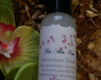 Geranium Toner (For dry & sensitive skin)