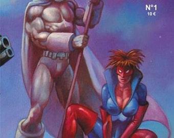 Elonan Heroes 1, BD, superheroes, comic book