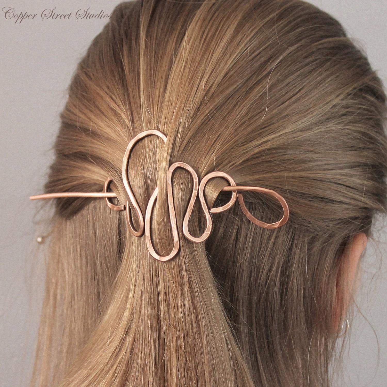 Copper Hair Stick Barr...