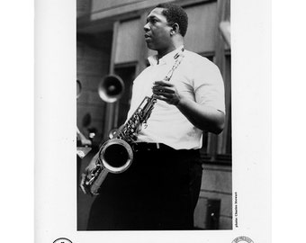 John Coltrane Publicity Photo 8 by 10 Inches