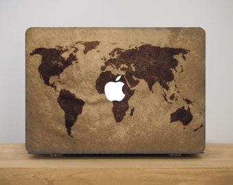 World Map Macbook Case Macbook Air Cover for Laptop Travel Macbook Pro Case Macbook Pro 13 inch Case Macbook Pro 15 inch Case Macbook MB_092