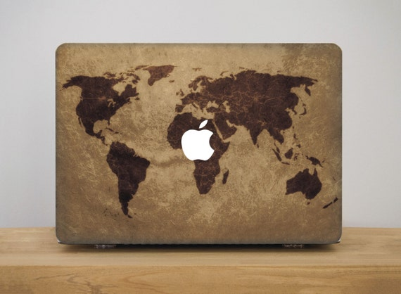 Monde carte macbook macbook air housse pour ordinateur for Housse macbook air 11 pouces