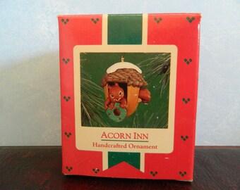 "Hallmark Keepsake Squirrel Ornament ""Acorn Inn"""
