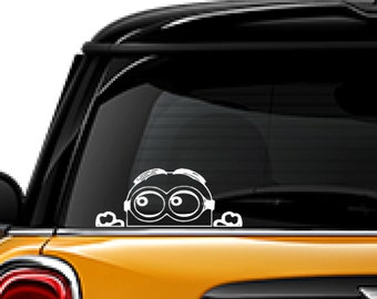 Vinyl Decal Vinyl Sticker Minion Decal Sticker Cut Vinyl Car - Minion custom vinyl decals for car