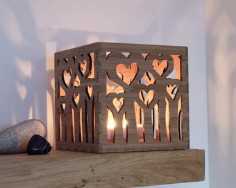 Heart Tea Light Holder, Valentineu0027s Gift, Votive Candle Holder, Tealight  Lantern, Wedding Lanterns, Personalised Gift, Memorial Lantern
