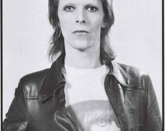 David Bowie Aladdin Sane 1973 Rare Poster