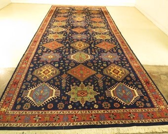 23755E: Palatial 8' x 21' Room Size Oriental Handmade Rug