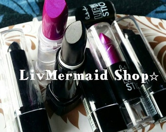 Black or Purple Lipstick, lipstick black or purple, choose yours!