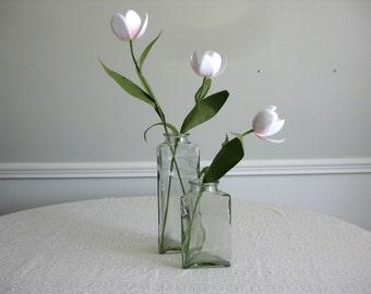 Set of Handmade Paper Tulips in Vases
