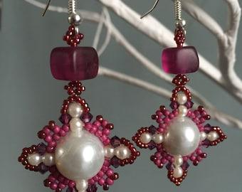 Oriental style earrings