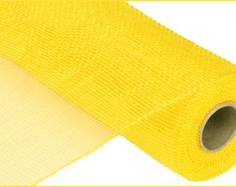 "21""X 10yds. Deco Mesh- Solid no Foil -Yellow/Deco Mesh Supplies/RE100229"