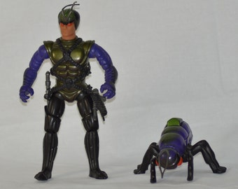 Waspax and Wingid Sectaurs action figure Coleco 1984 1985