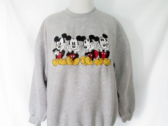 90 39 S Mickey Mouse Sweatshirt Vintage Disney Shirt