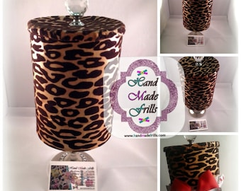 Head band Holder Leopard Print bow holder