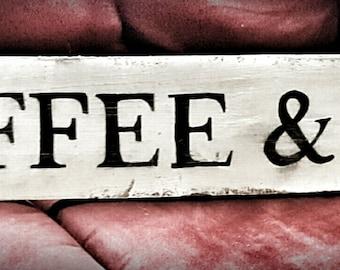Barnwood Coffee &Tea Sign