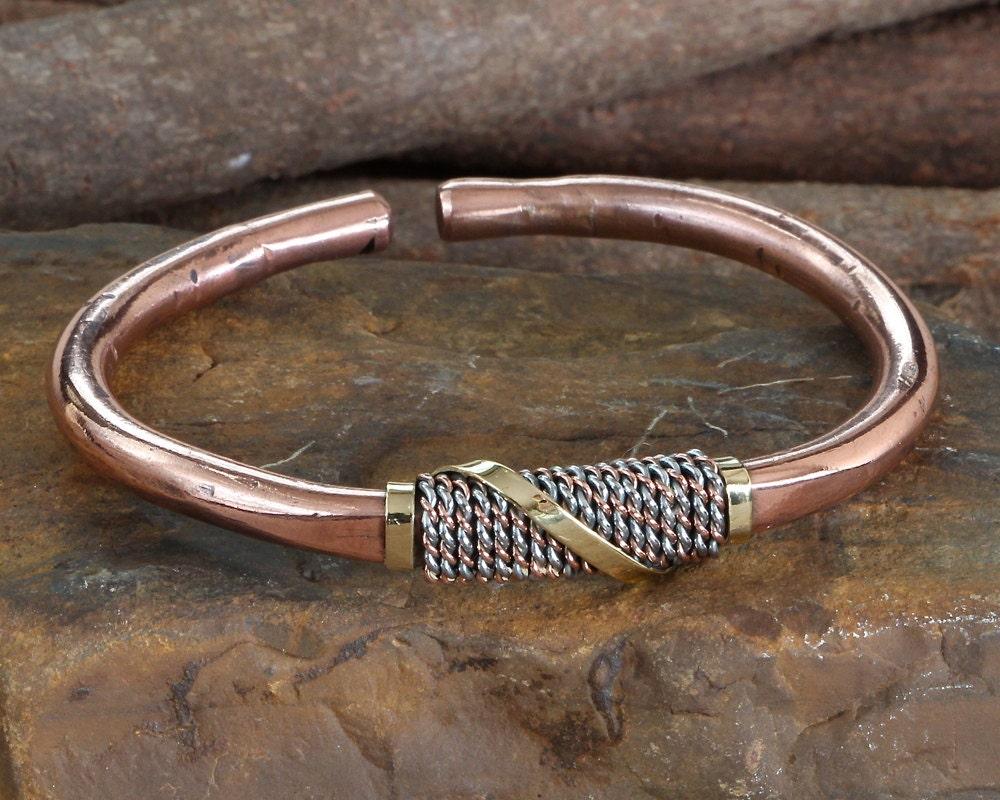 men 39 s copper bracelet bangle copper bangle bracelet. Black Bedroom Furniture Sets. Home Design Ideas