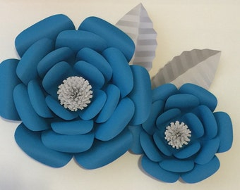 Large Paper Flowers-Backdrop-Flower Wall-Photo Booth-Nursery-Wedding-Birthday-Anniversary-Wall Decor-Home Decor-Wedding Arch-Br
