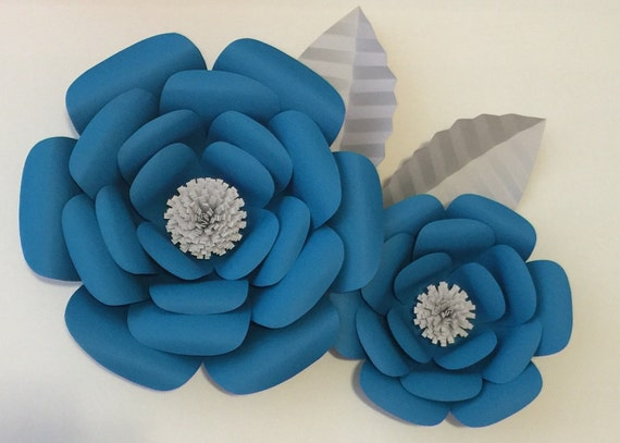 Large Paper Flowers-Backdrop-Flower Wall-Photo