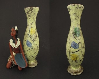 Vintage vase made by Scheurich / model 210 25   West German Pottery   60s