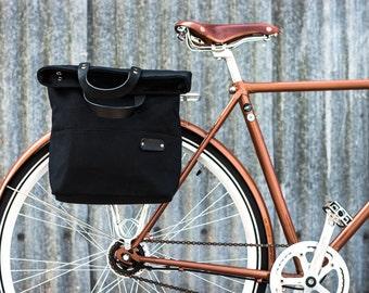Pannier Bag / Bike Bag /  Cycle  Bag / Bicycle Bag / Bicycle Pannier / Canvas Pannier Bag / Tote Pannier