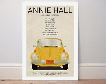 Movie poster 'Annie Hall' colour print
