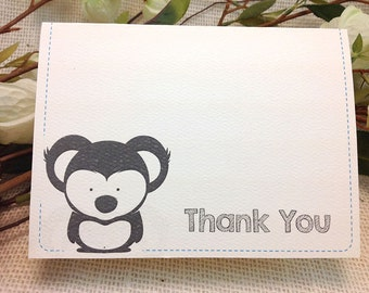 Thank You Cards // A2 Broadfold // Baby Koala  - Get Started Deposit or DIY Payment