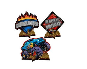Mudslinger Monster Truck Centerpiece