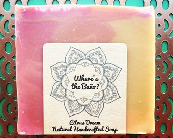 Citrus Dream Natural Handcrafted Soap