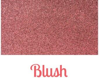 Fine Glitter Fabric - Blush