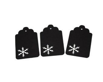 Snowflake 6 Gift Tags
