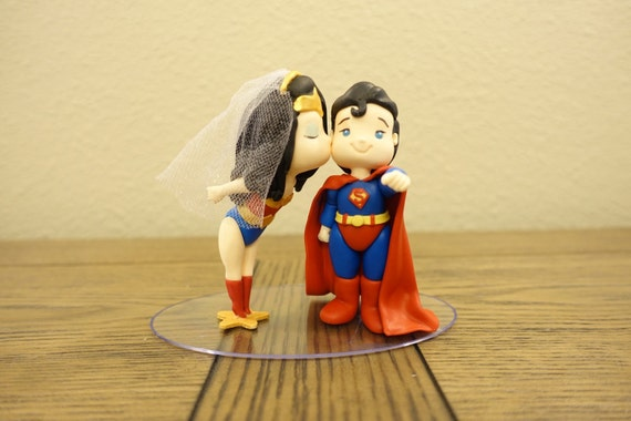superman wedding cake toppers and superman cake topper wedding cake topper 20622