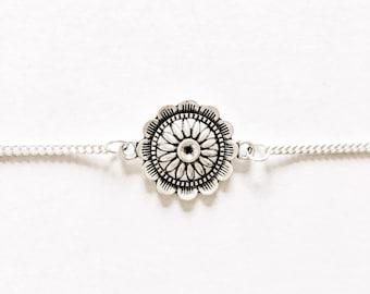 Flower Mandala Chain Choker