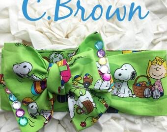 Charlie Brown Headwrap