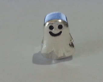 Sterling Silver Ghost Charm