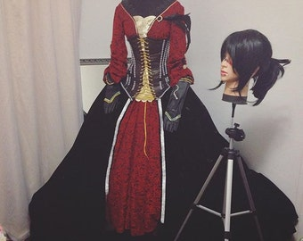 Morrigan match dress from Dragon age Inquisition