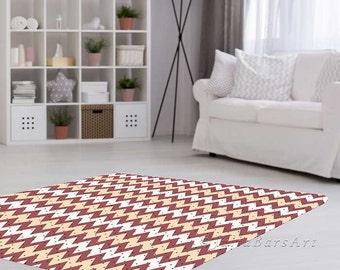 Polka dot rug etsy for Living room 4x5