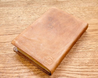 Full Grain Cowhide Leather Bible, ESV Large Print reference