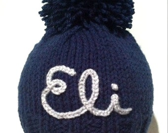 Kid's Hat, 0-4 yrs. Personalized, Custom, hand made.