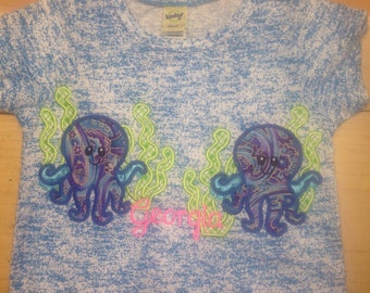 Personalized Octopus Shirt
