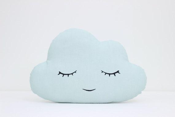 Cloud Pillow Cloud Cushion Kids Pillow Nursery by ...
