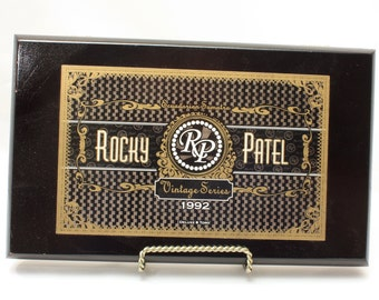 Rocky Patel Cigar Box, 1992, Vintage Cigar Box, Tobacciana, Collectibles